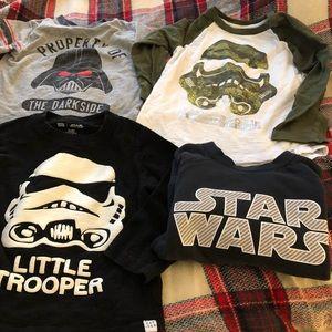 Baby Gap Star Wars Lot Size 3